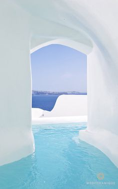 The River Pool Suite at the Canaves Oia Hotel & Suites in Santorini Greece
