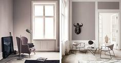 Idea to add more trim to wall below windows. New Gubi Catalogue Photos