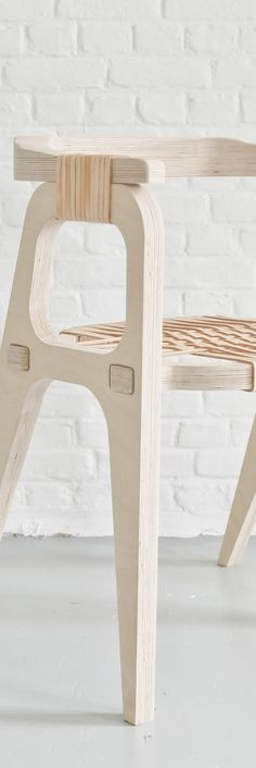 Bind Chair by Jessy Vandurme (KLAER) Product Design #productdesign