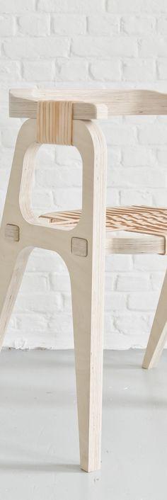 Bind Chair by Jessy Vandurme (KLAER) Product Design #productdesign