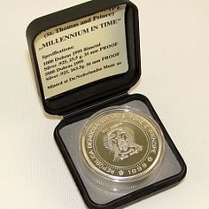St.Thomas and Prince Islands 1000 dobras Milllennium in time coin 1999
