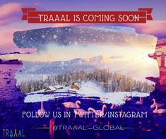 Save Your Time From Planning Up Your Vacation.  Traaal is Coming Soon!   Follow Us and Stay Tuned (^_^)   #traaal #comingsoon #travel #traveling #fun #winter #startups #business #followus #nature #luxury #attractions #photo #waters #travelphotography #photography #socialmedia #ilovetravel #ilovetravelling #saveyourtime #timeisprecious #staytuned