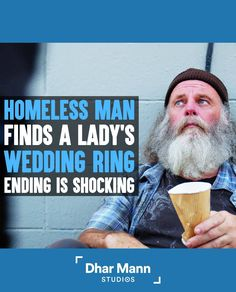 Homeless Man Finds A Woman's Wedding Ring, Ending Is Shocking | Dhar Mann. What goes around comes around. Somehow our actions always have a way of coming back to us. For more motivational videos, visit DharMann.com #DharMann Kids Stealing, Homeless Man, Motivational Videos, Wedding Rings For Women, Life Tips, Success, Lifehacks, Life Lesson Quotes