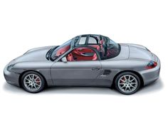 Porsche Boxster 986 roof section cutaway drgn