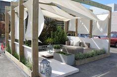 pergola inspiration for the outdoor entertainment area. #pergola #garden