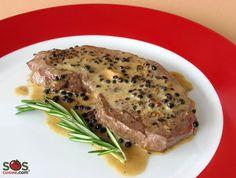 Recette - Steak au poivre | SOS Cuisine
