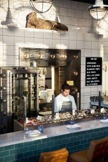 The Ordinary, Charleston, SC- a raw oyster bar and hot interiors