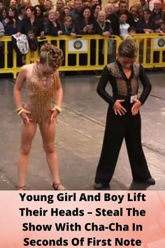 #Young Girl And Boy Lift Their #Heads – Steal The #Show With Cha-Cha In #Seconds Of First Note