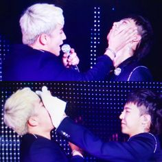 nyongtory they are always touching each other on stage.. Always.