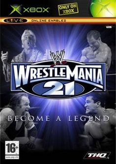 Build your own wrestling legacy in WrestleMania XXI. The game provides a realistic WWE experience, complete with superstar voice-overs and commentary. Create your own wrestler, and watch him or her evolve as you earn new moves, costumes, and abilities. Strive for the WWE heavyweight title in single-player mode, or build your own championship belt, and defend it online. Through Xbox Live, you can take on four of your friends in head-to-head competition, where you'll try to gain prestige with… Wrestlemania 21, Wrestling Games, Games To Buy, Xbox Live, Single Player, The Prestige, Victorious, Wwe, Competition