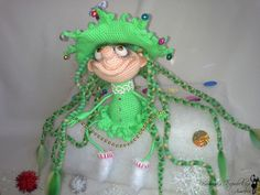 Project by Nati0703. Doll Marie the Christmas tree crochet pattern by Pertseva for LittleOwlsHut # Doll #Marie #the Christmas tree # crochet pattern# Pertseva# LittleOwlsHut# crafts & DIY