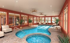 Swimming pool:  Indoor pool