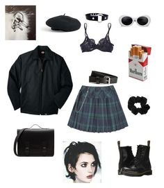 """""""Untitled #3"""" by duasiddiqi on Polyvore featuring Dickies, La Perla, Dr. Martens, Venus, Ryder and Alexander McQueen"""