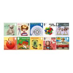 Classic Toys Stamp Set