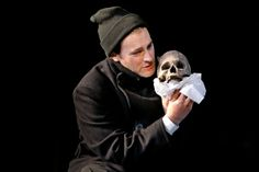 Michael Stuhlbarg as Hamlet in Shakespeare in the Park.