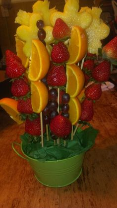 Homeade edible arrangement