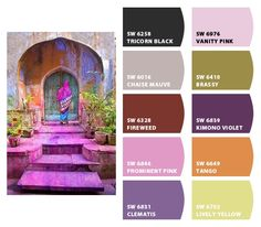 """Paint colors from Chip It! by Sherwin-Williams - this is so cool! i just made this chip. if there's a piece of art you're inspired by - boom - here's the colors you use for the room. and you can """"chip"""" pictures the same way you pin them."""