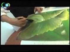 Como pintar hortensias . Herminia Devoto con Mabel Blanco - YouTube