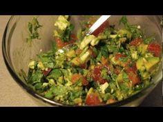 Avocado Salad - YouTube