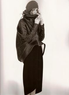 """thelncc:  """"LOOK BACK: Rick Owens AW07 by Andreas Sjödin for 10 Magazine.  """""""