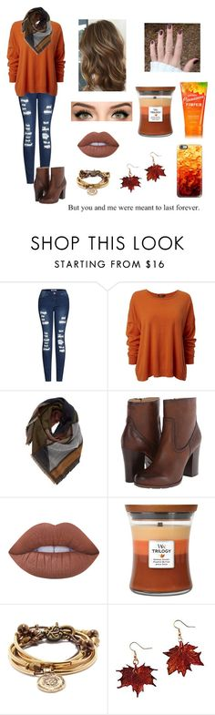 """""""Nothing lasts forever"""" by s-hiver ❤ liked on Polyvore featuring 2LUV, BP., Frye, Lime Crime, WoodWick, Lizzy James and Casetify"""