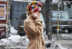 turban hijab Yay for colors! Loving this look