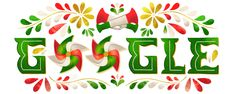 Cafe y gif Mexican Independence Day, Happy Independence Day, Google Doodles, Birdman, Mexican Fonts, Mexican Crafts, You Doodle, National Holidays, Handicraft