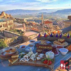 Serpme Kahvaltı - Rox Cappadocia / Kapadokya ( UÇHİSAR )
