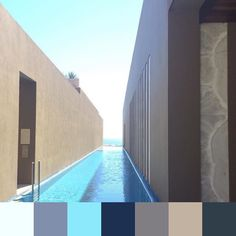 Serene color of paradise @jwloscabos |  @sydaberry | #foundpalettes #snow #escape