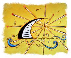 tattoo sailboat  by MAD*ART, via Flickr