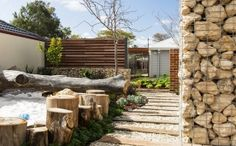 Gardening Australia - Josh's House - Garden and kids sandpit