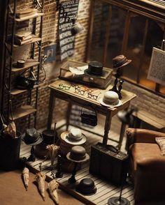 Handmade Miniature Furniture by Kiyomi Chiisana Shiawase