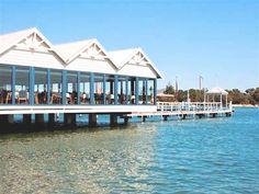 Restaurant, Swan River, East Fremantle, Perth, Western Australia