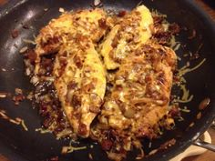 Easy Cheesy Bacon Chicken Breasts (all in one pan!)