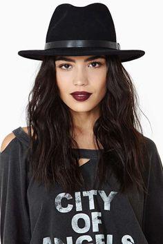 Brixton Messer Hat