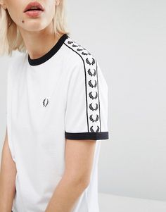 Fred Perry | Fred Perry Archive Taped Ringer T-Shirt