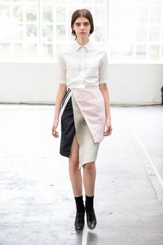 A.A. Antonio Azzuolo Spring 2015 Ready-to-Wear - Collection - Gallery - Look 1 - Style.com