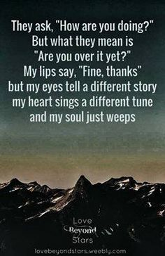 true...my heart sings a different tune...