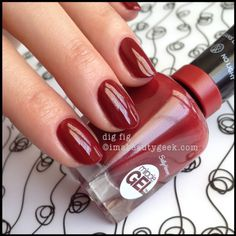 sally hansen miracle gel dig fig. Good fall color