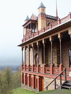 Olana State Historic Site: Thomas Cole's protégé, Frederic Church, furnished his Persian-style manse—perched 600 feet above the Hudson River—with pieces amassed from his travels.