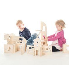 Ta.Ta. Unconventional Design For Kids: wood
