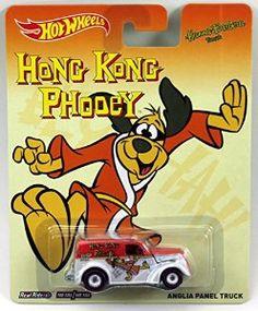 Amazon.com: Hot Wheels Pop Culture Hanna-Barbera Presents - Hong Kong Phooey Anglia Panel Truck: Toys & Games