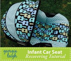 I used this pattern to re-cover a car seat for my granddaughter.  It's even better now with simplified instructions.  Try it if you want a new look or need to change from blue to pink.  ;)