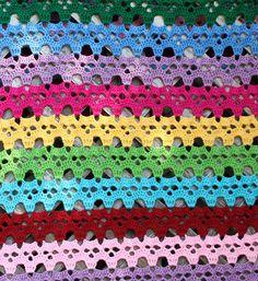 Skull Afghan crochet pattern by Chelsea Craft