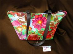 Oilcloth Tote Bags: Market Tote