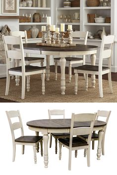 Expertly crafted using solid reclaimed pine, our Madison County dining collection provides relaxed sophistication for creative and comfortable entertaining. This group blends rustic and natural style to bring a unique and exceptional feel to your home. The Madison County dining table set can be found at Great American Home Store in the Memphis, Cordova, TN, Southaven, Olive Branch, MS area. #shopgahs #diningset #diningtable #diningroom #diningroomset #farmhousedining #kitchentable #breakfastnook