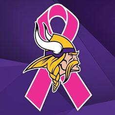 Vikings Football, Minnesota Vikings, Viking Baby, Beat Cancer, Purple Reign, Breast Cancer Awareness, Twins, Athletes, Nfl