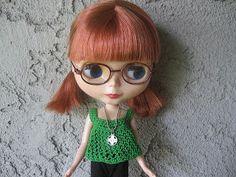 Blog de Goanna: Patrón Camiseta - Top en Crochet para muñeca Blythe