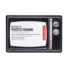 Retro TV Photo Frame Set of 3, $24, now featured on Fab.