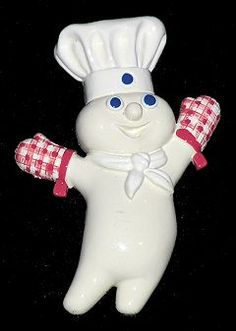 Pillsbury Doughboy Refrigerator Magnet Collection